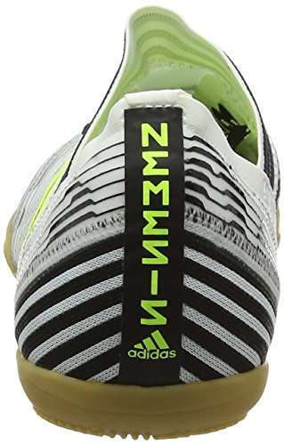 adidas Nemeziz Tango 17.3 In J - Zapatillas de Fútbol Niños Multicolor (Ftwr White/solar Yellow/core Black)
