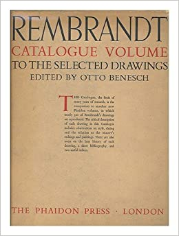 rembrandt selected drawings 2 volumes