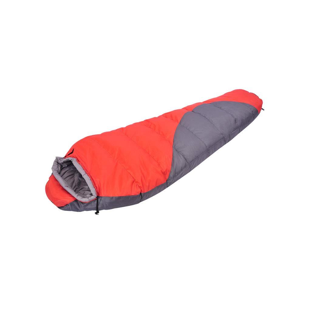 bleu  Kaiyu Fournitures de Camping en Plein air Sac de Couchage Adulte Sac de Couchage en Plein air Pause déjeuner Sac de Couchage Sac de Couchage de Voyage portable 220x80x50cm