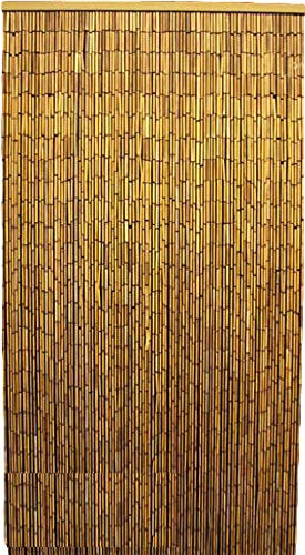 Master Garden Products Natural Beaded Bamboo Curtain 36