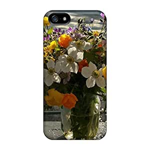 Samsung Galxy S4 I9500/I9502 QAG1068CLDi Flowers By The Sea Cases Covers. Fits Samsung Galxy S4 I9500/I9502