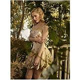 Hart of Dixie Jamie King as Lemon Breeland in a garden 8 x 10 Inch Photo