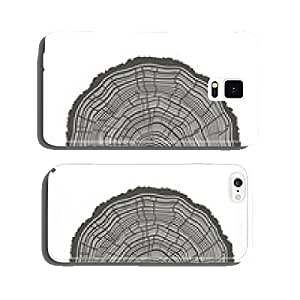 Tree Rings Illustration. Template for annual reports cell phone cover case Samsung S6