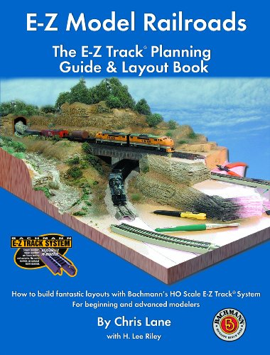 Bachmann Trains E-Z MODEL RAILROADS TRACK PLANNING BOOK