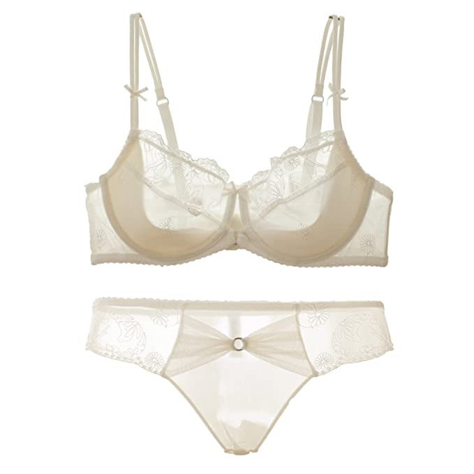 Ropa interior ultrafina para señoras/sostén set/ Super atractiva se reunieron/Transparente encaje