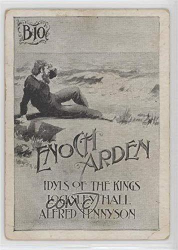 Enoch Arden Ungraded COMC Poor to Fair (Trading Card) 1893 Tokalon Series Authors Illustrated - [Base] #B10 (Arden Fair)