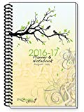 2016-17 BRANCHES BIRDS Inspirational Christian Daily Planner Day Planners Weekly Monthly Agenda, 6 x 9