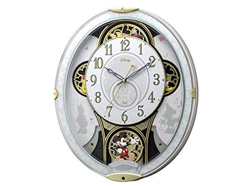 シチズン リズム時計製 からくり電波掛け時計 4MN509MC03 B0764ZLCVG