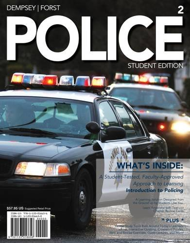 Police   Student Edition W/Access