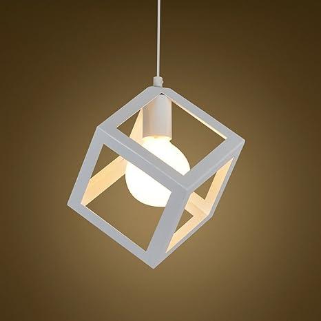 EST007® Nordic creativo battuto lampadario in ferro moderno e ...