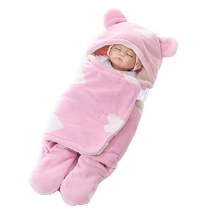 Manta infantil Bebe invierno Saco de dormir bebé recién nacido Nido de ángel Bebé recién nacido