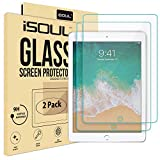 [2 PACK] Screen Protector for Apple iPad 2 3 4 Tempered Glass Film 9h HD, [Old versions] Premium Shatterproof Protectors Guard Cover [Apple Pencil Compatible] [2.5D Round Edge] [Scratch Resistant]