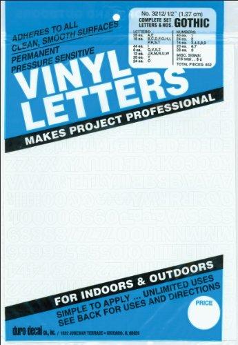 Vinyl Lettering - 1