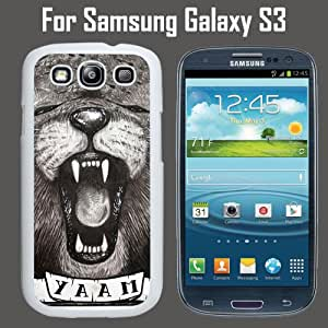 Hipster Animal YAAM Custom Case/ Cover/Skin *NEW* Case for Samsung Galaxy S3 - White - Plastic Case (Ships from CA) Custom Protective Case , Design Case-ATT Verizon T-mobile Sprint ,Friendly Packaging - Slim Case