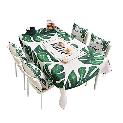 BlauLSS Serie Hello-Leaf verdickte Baumwolltuch Tabelle Rechteckige Tischdecke Tabelle runde Tischdecke Tabelle Multi-Größe Optionen GrünM 30, B07BQT6BC6 Tischdecken Jeder beschriebene Artikel ist verfügbar     | Erste Klasse in seiner Klasse