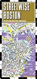 Streetwise Boston Map - Laminated City Center Street Map of Boston, Massachusetts (Michelin Streetwise Maps)