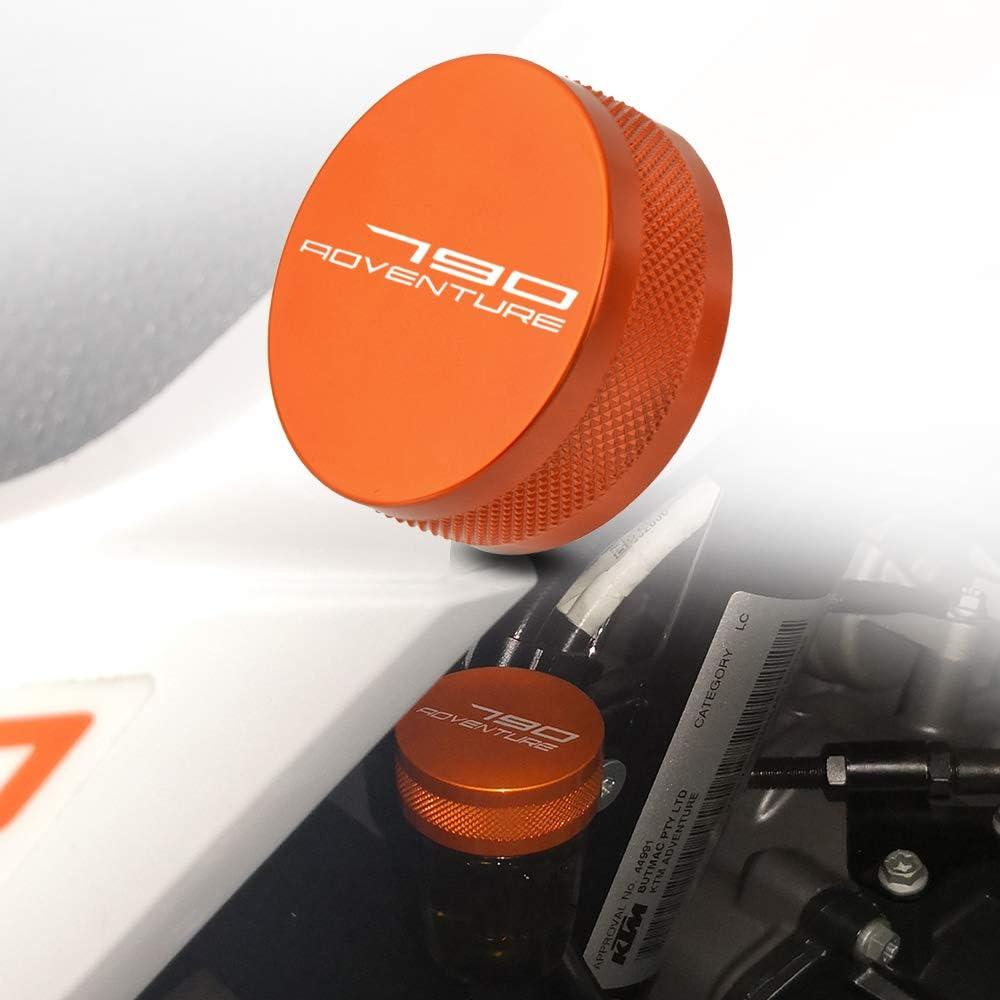 790 Adventure Motorrad Cnc Hintere Bremsflüssigkeitsbehälter Decke Für Ktm 790 Adventure R S 2019 2020 Orange Auto