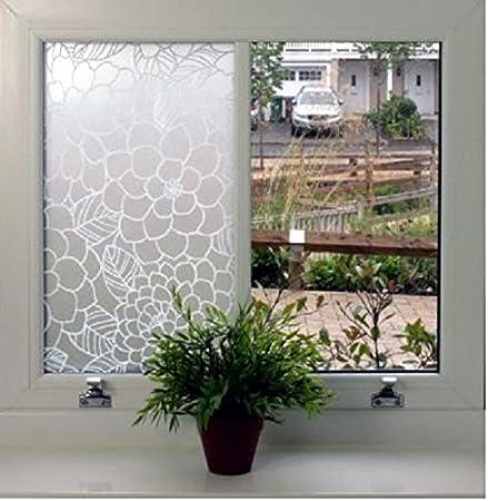 Decowall 84055 100cmw x 3ml flower decorative frosted decorative sticky