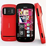 Nokia 808 PureView Red Factory Unlocked PENTA BAND 3G 850/900/1700/1900/2100 TelCel LOGO - International Version GSM Phone