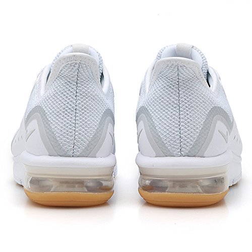 Air Running 101 Sequent Wmns Pure Donna White Max Nike Platinum Scarpe 3 Bianco BWqa57xO