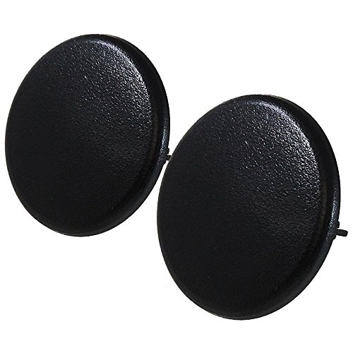 (TX Racing Black Color Replacement Armrest Cap Cover For Chevy Tahoe Suburban GMC Yukon 2007-2017 2PCS )