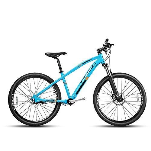 JDC-280、ホットセールシャフトドライブ男性と女性のマウンテンバイク、17インチ、3スピード、V/ディスクブレーキ、ノーチェーンMTB自転車 (靑, 26×17 インチ) B079QZNFTN  靑 26×17 インチ