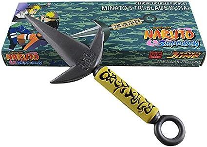 Amazon.com: Espada de espuma con 3 puntas de Naruto ...