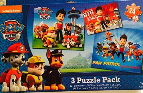 Paw Patrol Paw Patrol Puzzle 3-Pack
