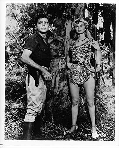 Sheena Queen of the Jungle TV series 8x10 real photo Irish McCalla Chris Drake