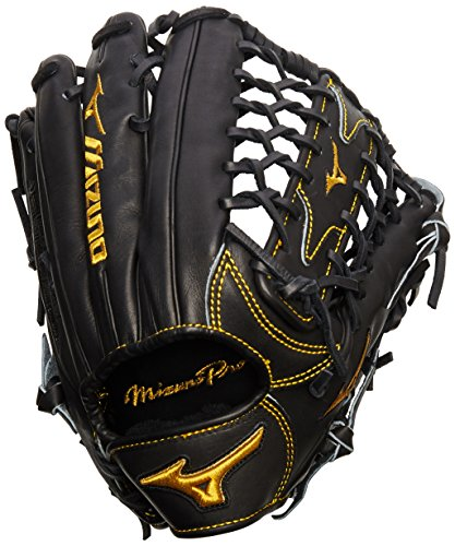 Mizuno Pro Limited Edition Glove, Black,Right Hand Throw