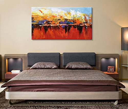 Seekland-Art-Abstract-Modern-Canvas-Wall-Art-Hand-Painted-Contemporary-Oil-Painting-Wall-Decor-Landscape-Artwork-Picture-No-Frame