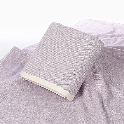 Gasa adultos sencillas telas grandes toallas de baño suave absorbente casa con paño, violeta