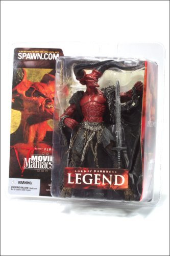 McFarlane Toys Movie Maniacs Series 5 Action Figure Legend Lord of Darkness With Sword