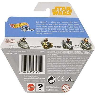Hot Wheels Star Wars Starship Yoda & Starfighter Vehicle: Toys & Games