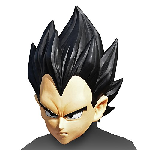 Dragon Ball Z Mask Vegeta Cosplay Anime japan (Dbz Vegeta Costume)