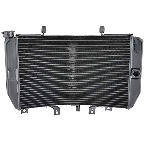 (For GSXR1000 GSXR 1000 GSX-R1000 2001 2002 Motorcycle Engine Radiator Aluminium Motor Bike Replace Parts Cooling Cooler)