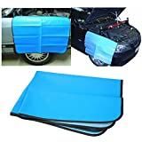 "Jecr Magnetic Car Fender Cover - Car and Truck Work Mat Protector for Mechanics - Paintwork Protect Fender Wing Cover - Heavy Duty Premium 32"" x 24"" Mat"