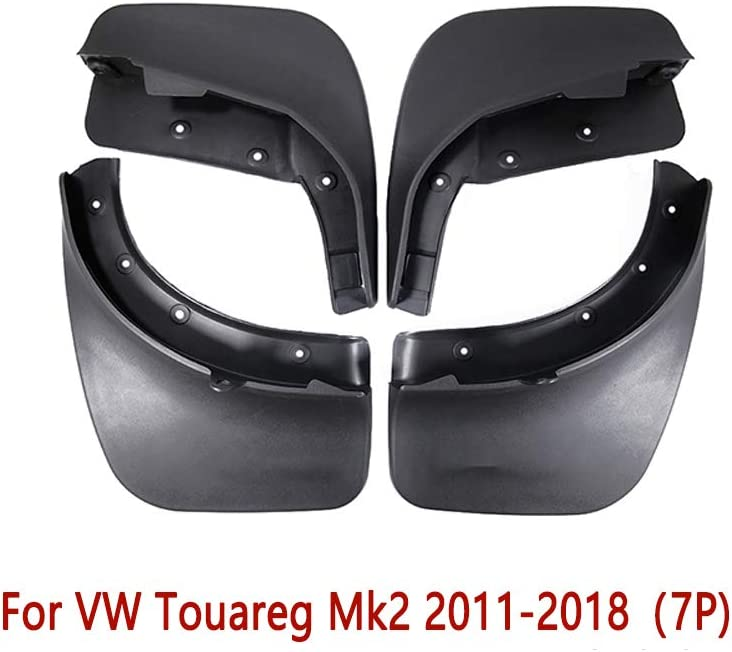N2Qnice 4 PCS Front Rear Car Mudflaps for VW Volkswagen Jetta 1998-2005 A4 Fender Mud Guard Flap Splash Flaps Mudguards Accessories