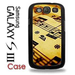 For Case Samsung Note 3 Cover Plastic Case - Sheet Music Musician Music Book Page