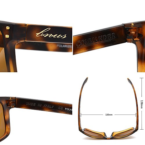 c57428e117c BNUS Italy made Sunglasses Corning Real Glass Lens w. Polarized Option ( Frame Matte Tortoise ...