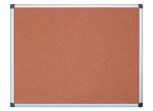 MasterVision Bulletin Board Maya, Cork Board, Pin Board with Aluminum Frame, 72 x 48 in. by MasterVision