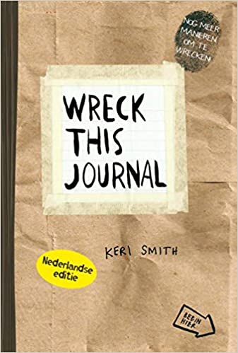 Wreck this journal NL editie (papier): Amazon.es: Smith, Keri ...