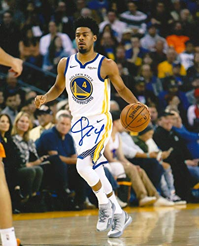 (Autographed Quinn Cook Photo - 8X10 COA - Autographed NBA Photos)