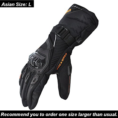 Cold Weather Motorcycle Gloves - 8