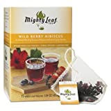 Mighty Leaf Wild Berry Hibiscus Tea – 15 Whole Leaf Tea Pouches Review