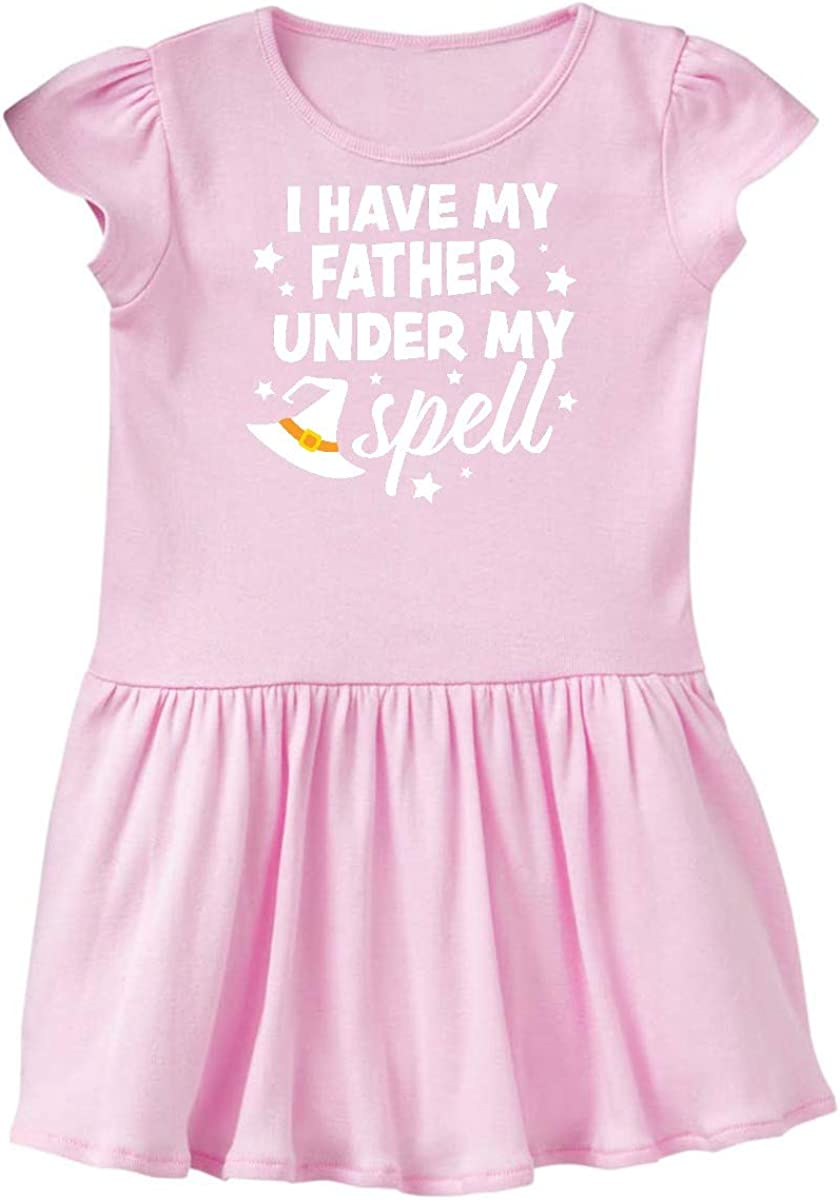inktastic I Have My Father Under My Spell with Cute Witch Hat Toddler T-Shirt