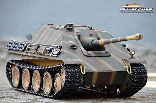 RC Metall Panzer Jagdpanther 2.4 GHz Taigen Profi HQ Metall RC Edition mit 6mm Schussfunktion 704545