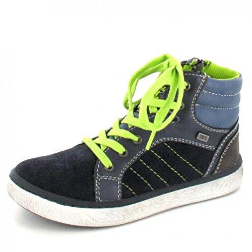 Lurchi Sneaker High Vince Tex, Farbe: Blau