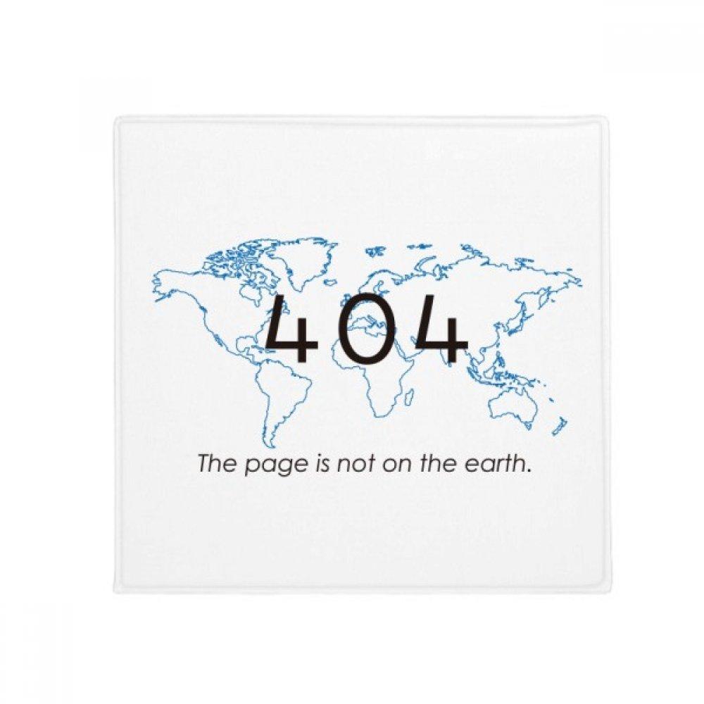 DIYthinker Programmer 404 Error Page Not On Earth Anti-Slip Floor Pet Mat Square Home Kitchen Door 80Cm Gift