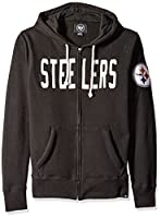 NFL Men's '47 Brand Cross-Check Full Zip Hood by Amazon.com, LLC *** KEEP PORules ACTIVE ***